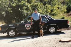 Cher Car Kennels trained Police Dog