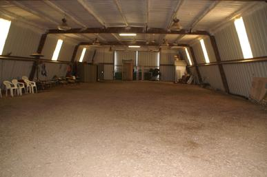 Cher Car Kennels indoor training field